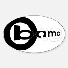 Obama 08 Decal