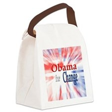 Obama for Change Canvas Lunch Bag