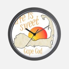 lifeissweetcapecod Wall Clock
