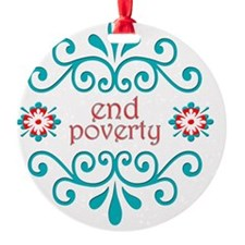 endpoverty Ornament