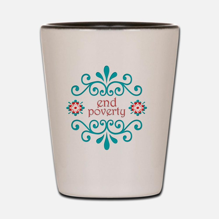 endpoverty Shot Glass