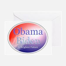 obamabidenfuture Greeting Card
