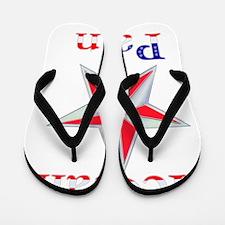 mccainpalinredstar Flip Flops