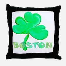 bostonclover Throw Pillow