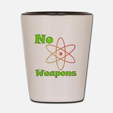 nonuclearweapons Shot Glass
