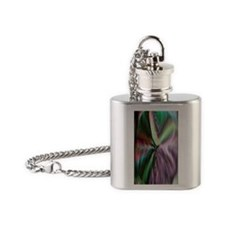 catseyeflipmino Flask Necklace