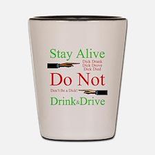 stayalive Shot Glass