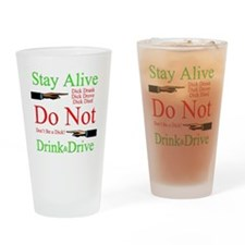 stayalive Drinking Glass