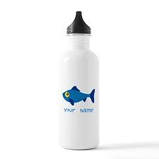 Personalized Fish Fisherman Water Bottle
