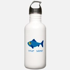 Personalized Fish Fisherman Water Bottle