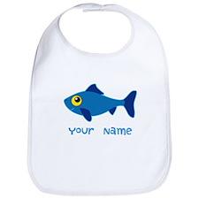 Personalized Fish Fisherman Bib