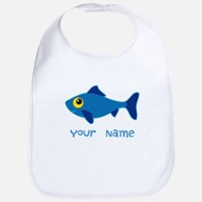 Personalized Fish Fisherman Bib