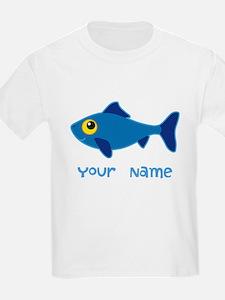 Personalized Fish Fisherman T-Shirt