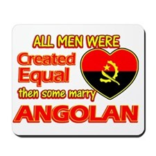 Angolan Wife Designs Mousepad