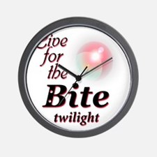 2-liveforthebite Wall Clock
