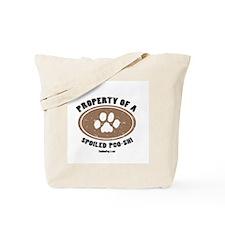 Poo-Shi dog Tote Bag