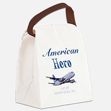 americanhero Canvas Lunch Bag