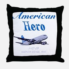americanhero Throw Pillow