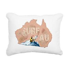 surf australia Rectangular Canvas Pillow