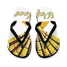 wellfleetshell Flip Flops