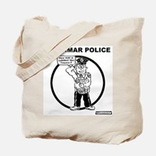 Cute Grammar police Tote Bag