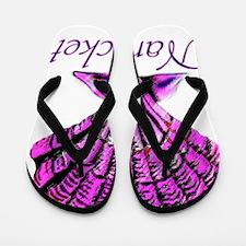 Nantucket Shell Flip Flops