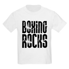 Boxing Rocks Kids T-Shirt