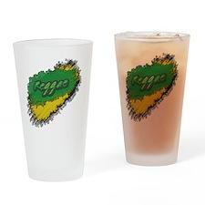 reggae Drinking Glass