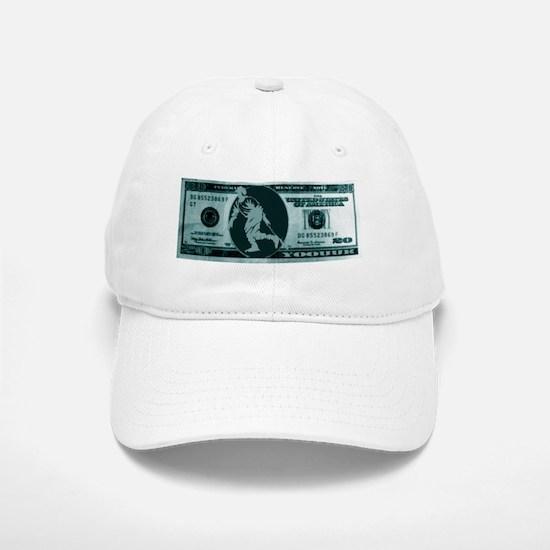 2-yoouuk20dollabill Baseball Baseball Cap