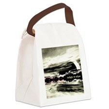 16x20xbw Canvas Lunch Bag