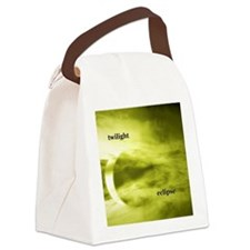 twilighteclipse1bw Canvas Lunch Bag