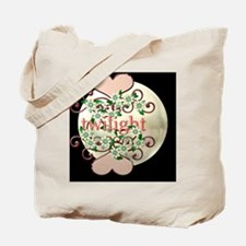 twilightflowershart11x11 Tote Bag