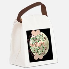 twilightflowershartkb Canvas Lunch Bag