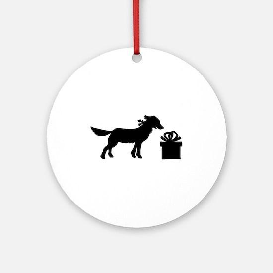 DOG N GIFT Ornament (Round)