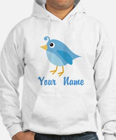 Personalized Blue Bird Jumper Hoody