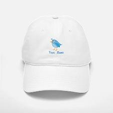Personalized Blue Bird Baseball Baseball Cap