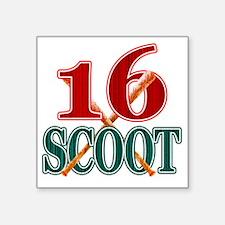 """scoot16 Square Sticker 3"""" x 3"""""""
