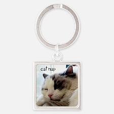 catnapkb Square Keychain