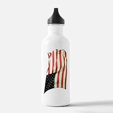 usflagwcvert Water Bottle