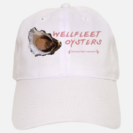 wellfleetoysters10x3 Baseball Baseball Cap