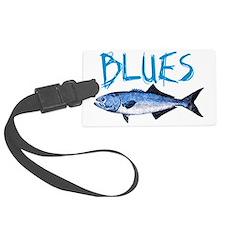 blues Luggage Tag