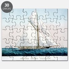 Cutter Yacht Thistle - 1887 Puzzle