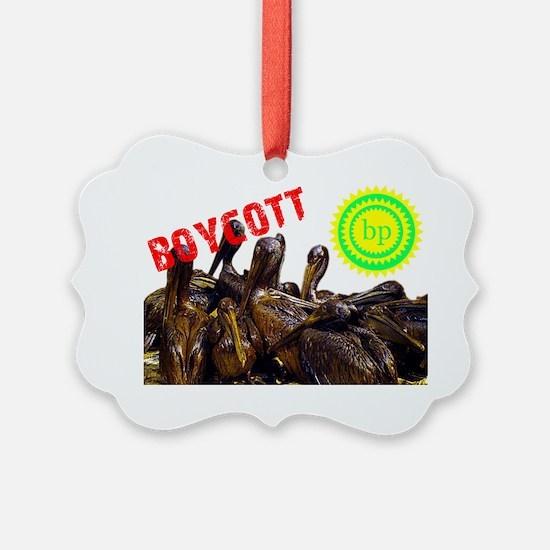 boycottbpoiledpelicans Ornament