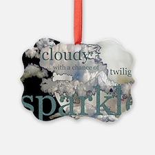 cloudysparkle14x10 Ornament