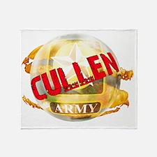 cullenarmy Throw Blanket