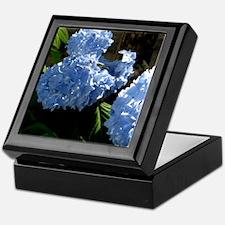 bluehydrangapillow Keepsake Box