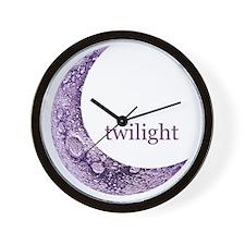 twilightqtrmoon Wall Clock