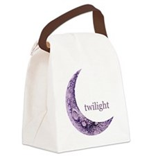 twilightqtrmoon Canvas Lunch Bag