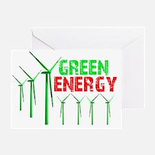 greenenergy Greeting Card