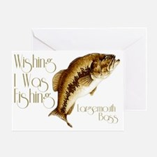 wishingiwasfishing Greeting Card